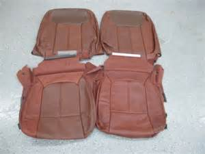 2011 ford f250 crew king ranch leather seat covers ebay