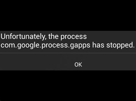 unfortunately the process android process media has stopped fix unfortunately the process android phone has stopped error
