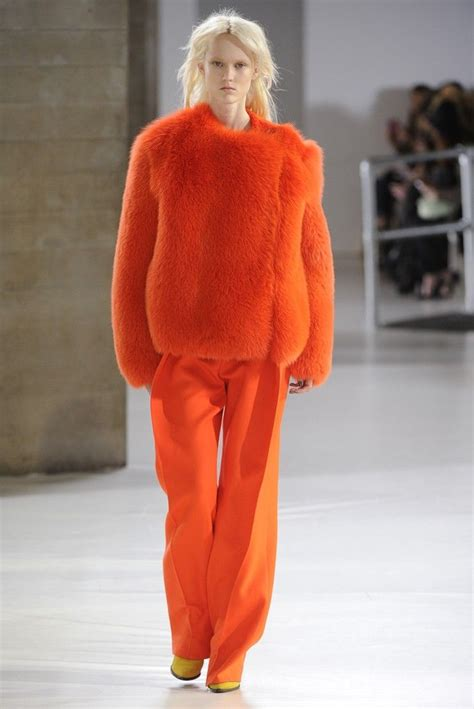 Fashion Orange 534 best quot fur on the runway quot images on furs fur coats and fur