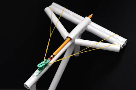 How To Make A Crossbow Out Of Paper - crossbow out of pencils www imgkid the