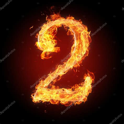 Fiery Number 2 Stock Photos Fonts Numbers And Symbols In For Different Purposes Stock Photo 169 Tsalko 45320271