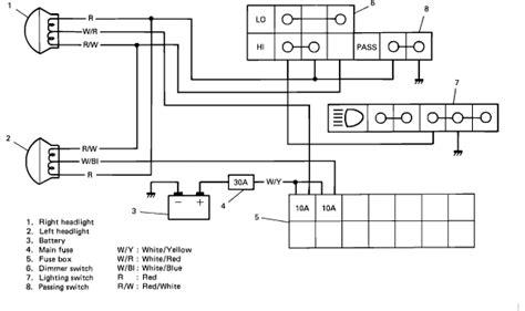 running new headlight circuit suzuki forums suzuki
