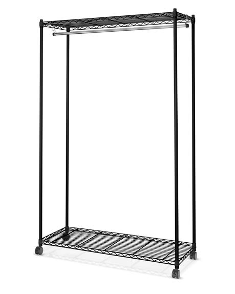 wire shelving garment rack williams sonoma
