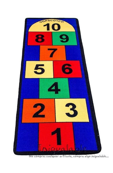 alfombra  ninos  los numeros  jugar  en mercado libre