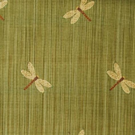 Dragonfly Upholstery Fabric by Duralee Fabrics 15305 341 Dragonfly Embroidery