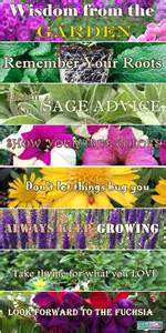power flowers wisdom from the garden