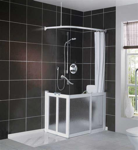 easy access shower bath easy access living