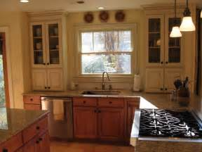 Mixing wood and painted cabinets beach house ideas pinterest