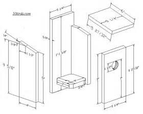 House Dimensions Audubon Birdhouse Plans