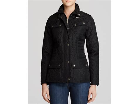 Barbour Quilted Coat by Barbour International Fireblade Quilted Coat In Black Lyst