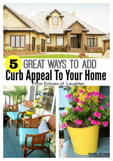 how to create curb appeal 5 ways to create great curb appeal echoes of laughter