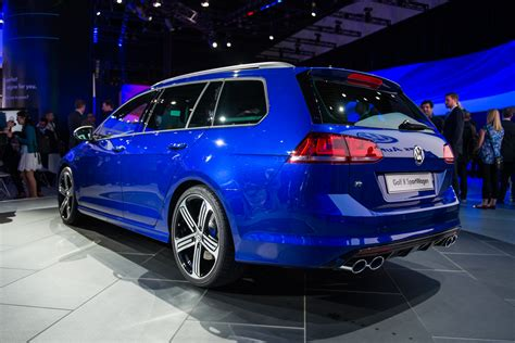 volkswagen variant 2015 vw golf r wagon debuts at 2014 la auto show