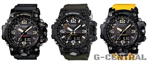 G Shock Gwg Black Lingkar Blue casio g shock mudmaster gwg 1000 all models released g
