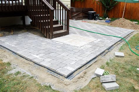Paver Patio Edging Options Plastic Patio Pavers Patio Design Ideas