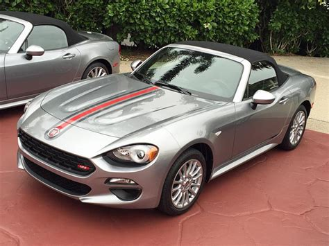 review 2017 fiat 124 spider drive ny daily news