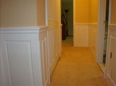 Wainscoting Walls Wainscoting Amp Chair Rail Raised Panel Wainscoting