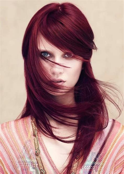 Aveda Silver Hair Colors | aveda collection ruby red hair color hair colour