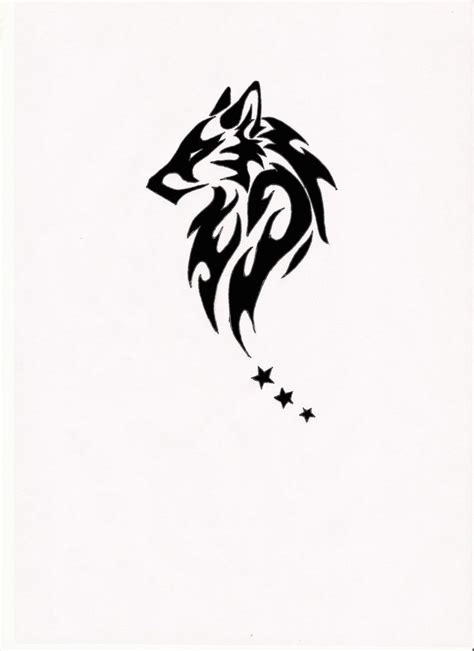 small tribal wolf tattoo 17 best ideas about tribal tattoos on