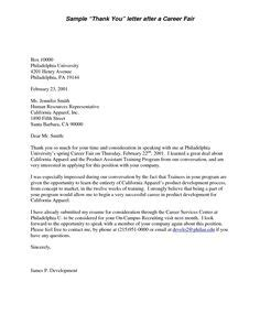 Sle Thank You Letter After House