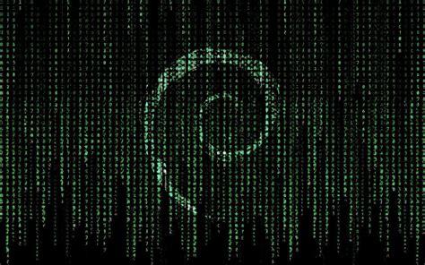 wallpaper matrix mac linux debian wallpaper