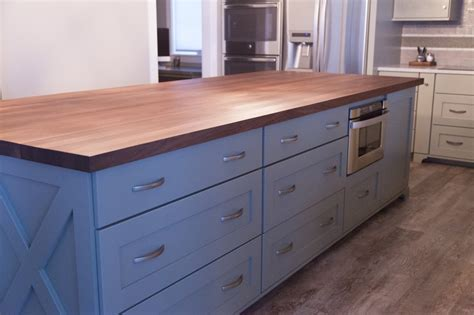 Kitchen Islands With Butcher Block Tops 5 Misconceptions About Butcher Block Countertops Mcclure Block Butcher Block And Hardwood