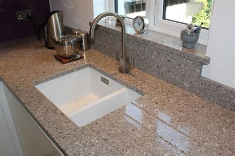 silestone alpina white undermount sink cut out with