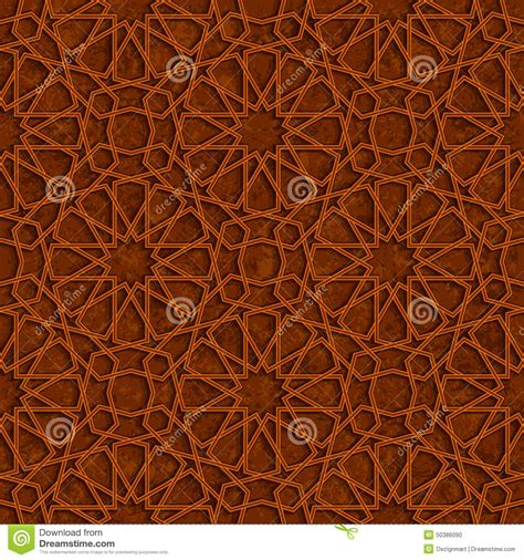 islamic star vector pattern islamic star pattern with brown grunge background stock