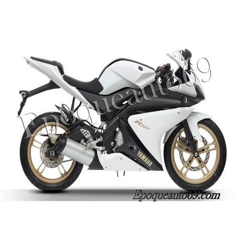 Stickers Yamaha Yzf R125 by Autocollants Stickers Yamaha Yzf R125 2012 Blancvhe