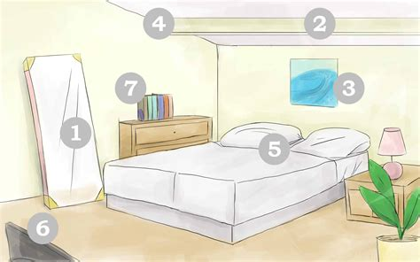 mirror in the bedroom feng shui how to feng shui your bedroom with pictures wikihow