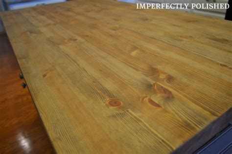 Mineral Butcher Block Countertops by Countertop Care