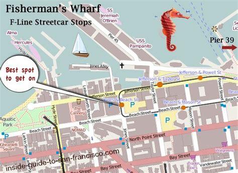 san francisco map fishermans wharf fleet week san francisco 2017 tips from a local