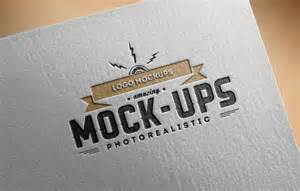 free mock up logo mock up paper edition 1 punedesign