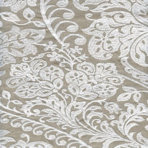 embroidered drapery fabric constantine linen embroidered linen drapery fabric