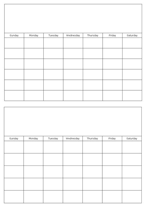 month planner template calendars that work 2 month calendar