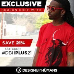 design by humans discount save 26 on graphic tees with a custom coupon code by