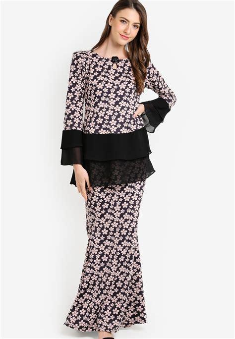 Murah Midi Dress kurung peplum chiffon search results for kurung peplum chiffon black zuco fashion midi kurung