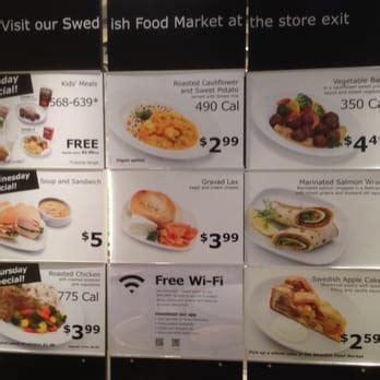 Menu Ikea ikea restaurant 372 photos 346 reviews cafeteria 4400 shellmound st emeryville ca