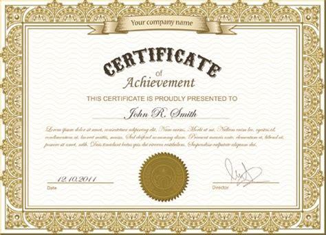 design certificate online best certificates design vector set 02 free download