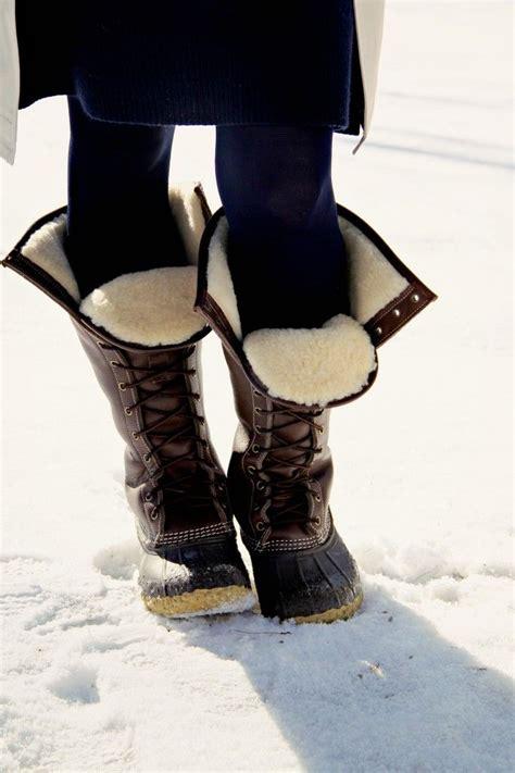 llbean winter boots l l bean signature shearling lined bean boots your l l