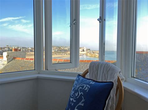 room with a view st trevose harbour house in st ives all aboard the skylark