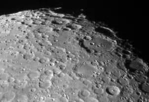 moon l 月面南部のクレーター群 天体写真の世界