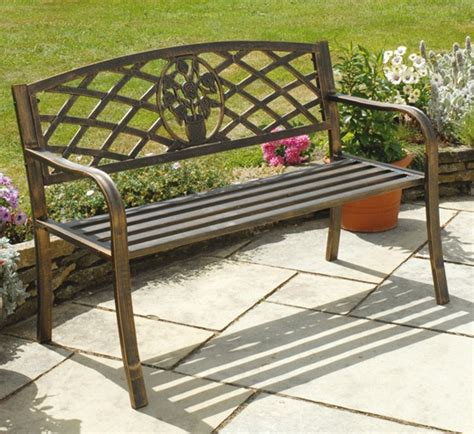 3ft garden bench rose antiqua 1 14m 3ft 9ins cast iron bench with insert