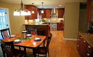 small kitchen dining room ideas dining room and kitchen design that blends artdreamshome