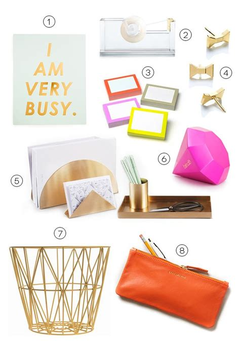 cute office decor 1000 ideas about office desk accessories on pinterest