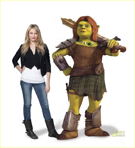 after cast cameron diaz presents shrek forever after cast pics