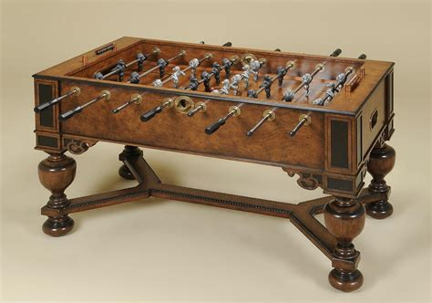 Vintage Foosball Table by Comparison Of And Modern Foosball Tables Ref S