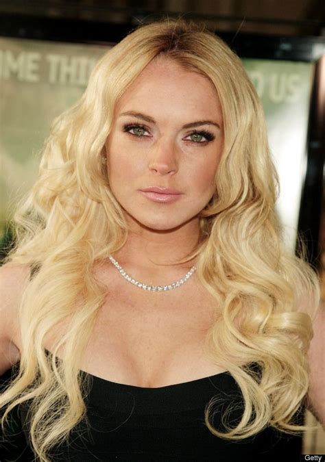 Another Letter From Lohan by Lindsay Lohan Arrives At The Premiere Of Paramount