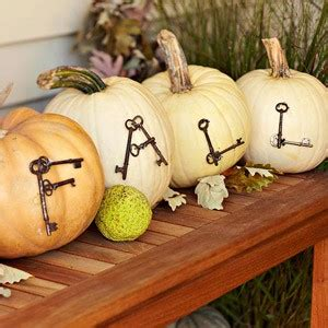 pumpkin displays fall decorating creating a rustic fall front porch display blissfully