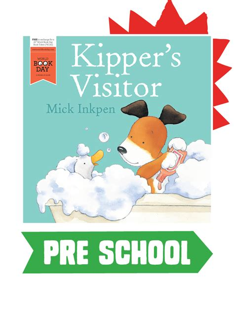 libro kippers visitor world book kipper s visitor