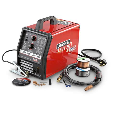 lincoln electric mig pak 15 lincoln 174 mig pak 15 welding kit 156056 welders